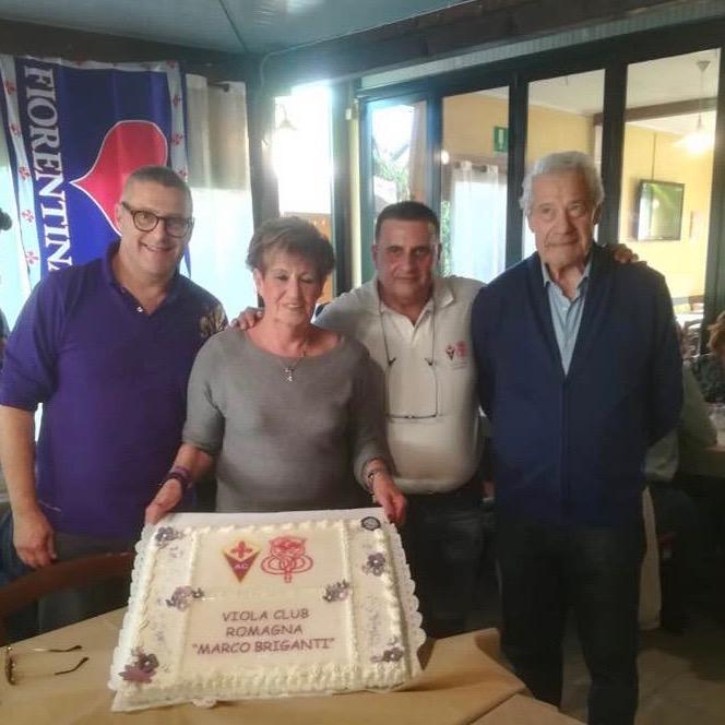 La Presidente Maria Lidia Contratti con i Soci Fondatori Gabriele Leoni, Bruno e Fabrizio Sali.